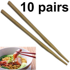 Chopstick Reusable wooden bamboo Chinese Japanese chop hair stick stir fry party