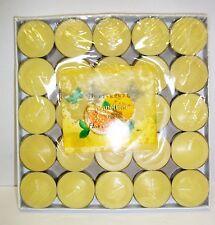 Duftkerze Grapefruit & Cassis / Kerze / Teelichter  25 er Packung pajoma