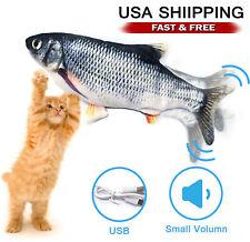 Pet Cat Usb Toy Charging Simulation Dog Jumping Dancing Moving Flippity Fish Toy