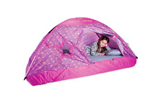 Girls Playhouse Child Kid Tent, Fun Indoor Princess Secret Castle Full Bed Tent