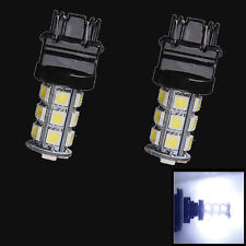 2 X White 3157 5050 18-SMD Reverse Backup LED Light Bulb 3156 3057 3456 Sales