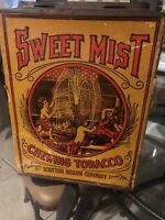 SWEET MIST Chewing TOBACCO Tin, Scotten Dillon Company, Old Vintage