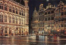 B54744 Bruxelles Grand`s Place la nuit belgium