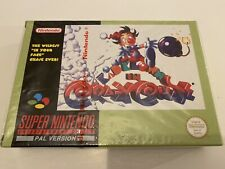 Super Nintendo SNES kid Klown In Crazy  Chase Brand New Factory Sealed Rare.