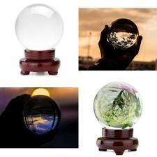 100mm Crystal Photography Lens Ball Photo Prop Background Lensball Clear Decor
