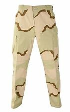TRI-COLOR DESERT  BDU/CARGO PANT  RIP STOP NEW Size Small Regular
