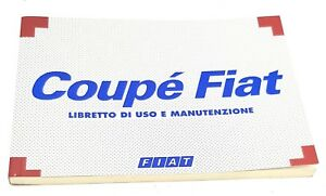 Fiat Coupe Car Manuals Literature For Sale Ebay