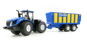 Siku 1947 -  New Holland T9.560 Tractor with Silage Trailer - Scale 1:50