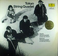 LP TOKYO STRING QUARTET - streichquartet Haydn g-dur / Brahms a-moll, DG, nm