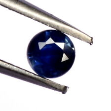 Natural Blue Sapphire Round Cut 4 mm 0.40 Cts Ceylon Blue Shade Loose Gemstones