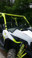 Can Am Maverick 1000 Clear Half Front Windshield - 1/4 Thick Polycarbonate!
