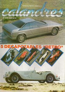 CALANDRES 15 AUDI QUATTRO TRESER BMW 635 CSi CABRIOLET DINO 246 GTS FIREBIRD TRA