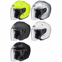 HJC FG-Jet 3/4 Open Face Motorcycle Street Helmet DOT - Pick Size & Color
