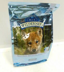 Blue Buffalo Wilderness High Protein Puppy Food 4.5 lbs Grain Free Chicken