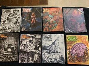 Dungeon Crawl Classics: Massive Lot of 35 DCC Adventure Modules!