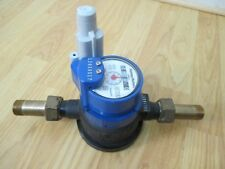 """Water Meter Hersey 5/8"""" x 3/4"""" Model 420 w/ 60W Endpoint Encoder, Unions New"""