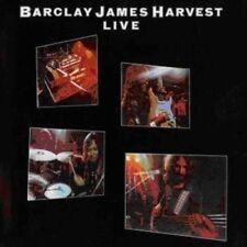 BARCLAY JAMES HARVEST - LIVE (REMASTERED)  CD NEW!