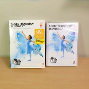 Adobe Photoshop Elements 7 With CD Key Serial Editing Software