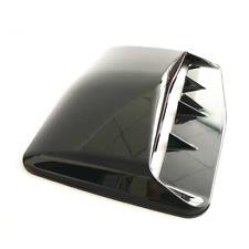 Car Air Flow Intake Hood Scoop Vent Bonnet Cover ABS Black Decor Accessories