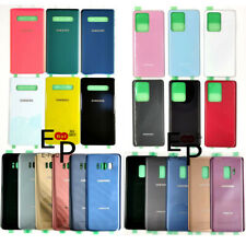 Battery Door Back Glass Cover Replacement For Samsung Galaxy S7 S8 S9 S10 S20