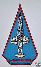 PATCH RARA F-104 STARFIGHTER RICAMATA TUTA DA VOLO PILOTA