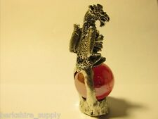 Pewter  Dragon  Figurine Made In USA