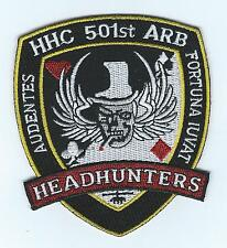 "HHC 501st ARB ""HEADHUNTERS"" patch"