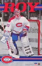 POSTER :NHL HOCKEY : PATRICK ROY - MONTREAL CANADIENS - FREE SHIPPING ! RW13 R