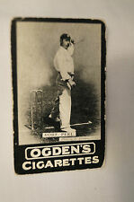 1901 -Vintage -Ogden's -Series A -TAB Cricket Card - Robert Peel - Yorkshire.