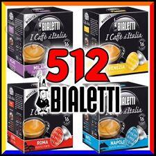 512 Capsule caffè BIALETTI A SCELTA cialde alluminio espresso Tazzona Mokona
