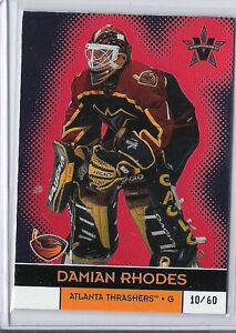 2000-01 VANGUARD DAMIAN RHODES GOLD /60 PACIFIC 5 THRASHERS