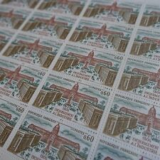 FEUILLE SHEET TIMBRE HISTOIRE INDUSTRIE N°1775 x25 1973 NEUF ** LUXE MNH