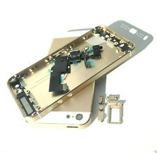 For iPhone 5G 5 Housing Middle Metal Frame Rear Cover Battery Door Gold Case