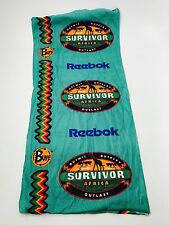 Rare Original Reebok Survivor Africa Teal Green REEBOK Buff Not Reissue Season 3