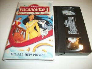 Pocahontas II: Journey To A New World (VHS, 1998) Clam Shell