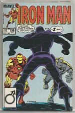 Invincible Iron Man #196, Vintage Marvel comic book from July 1985