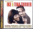 IKE & TINA TURNER The Very Best CD Ottime Condizioni