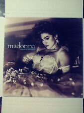 Madonna - Like a Virgin (1984) Vinyl LP • Material Girl, Angel, Dress You Up
