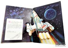 TOWARDS THE COSMOS 1981 Pop-Up Space Book Rumo Ao Cosmos Sevastianov Portuguese