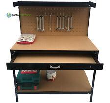 Banco da lavoro tavolo porta utensili officina garage attrezzi XXL 150x120x60