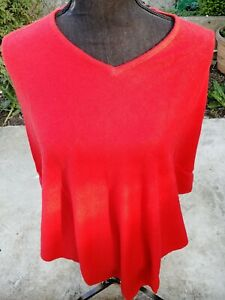 Pure Cashmere Poncho Wrap Sweater cardigans Handmade Nepal poncho V-Neck red