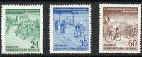 East Germany 1953 (DDR) The Prague-Berlin-Warsaw Peace Event MINT MNH Stamp Set