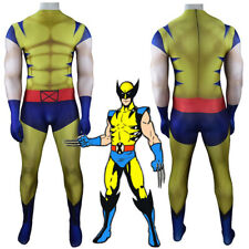 Halloween Wolverine Costume Cosplay Party Bodysuit For Adults Kids