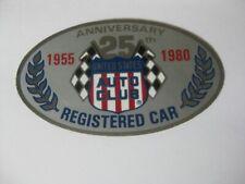 Original 1980 USAC Registered Race Car Decal  Indy 500