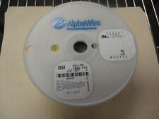 AlphaWire 3050 900 New est., Yellow 24 AWG, 7/32 Wirer