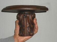 Antique French Wood Carved Acanthus WALL SHELF