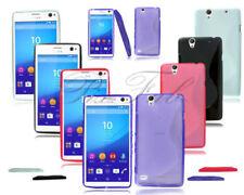 Cover e custodie Per Sony Xperia C4 per cellulari e palmari silicone / gel / gomma