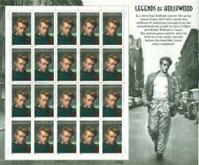 US: 1996 JAMES DEAN - LEGENDS OF HOLLYWOOD; Sheet Sc 3082; 32 Cents Values