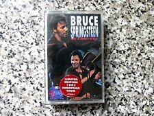 BRUCE SPRINGSTEEN Unplugged 1992 EU CASSETTE TAPE - TESTED LTD EURO TOUR EDITION