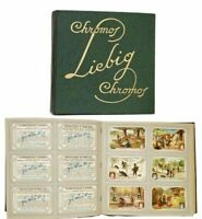 Liebig Trade Cards In Album 50 Pages With 6 Sets Each For a Total of 300